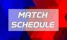 Match schedule 2019